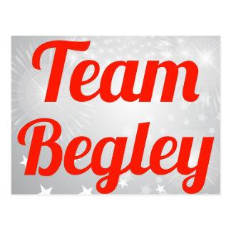 Team Begley Post Card