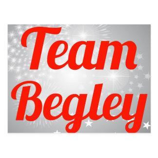 Team Begley Post Cards