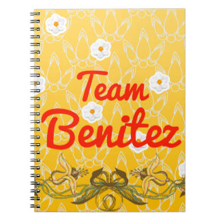 Team Benitez Spiral Notebook