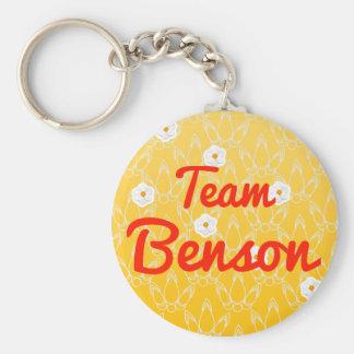 Team Benson Keychains