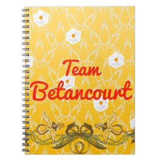 Team Betancourt Notebook