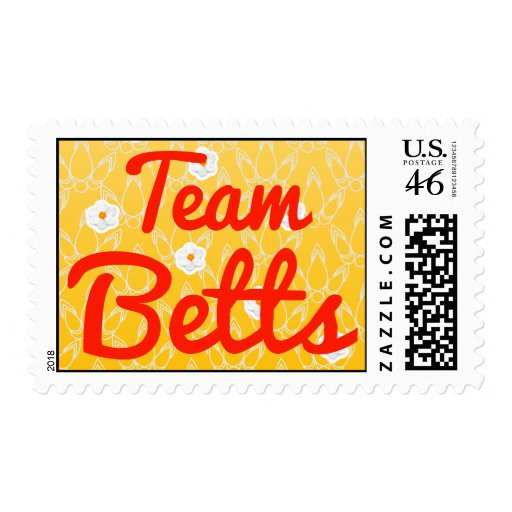 Team Betts Stamp