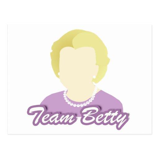 Team Betty Post Cards