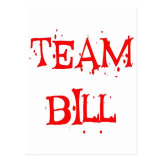 Team Bill Postcard