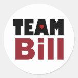 Team Bill stickers