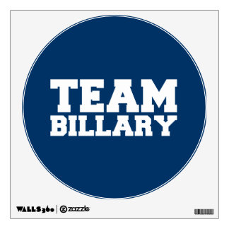 TEAM BILLARY CLINTON 2016 WALL GRAPHICS