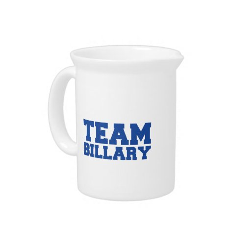TEAM BILLARY CLINTON.png Beverage Pitchers