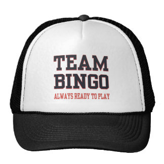 Team Bingo - Always Ready To Play Trucker Hat