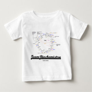 Team Biochemistry (Kreb Cycle Citric Acid Cycle) Baby T-Shirt