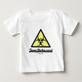 Team Biohazard (Biohazard Warning Sign) Baby T-Shirt