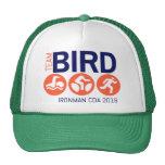 Team Bird Orange Trucker Hat