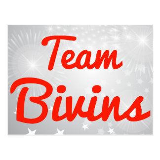 Team Bivins Postcard