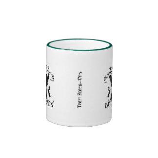 Team Black-Ops Logo, Team Black-Ops Logo, Box 2... Ringer Coffee Mug