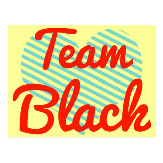 Team Black Postcard