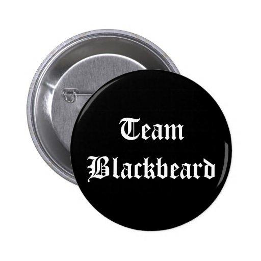 Team Blackbeard 2 Inch Round Button