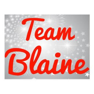 Team Blaine Post Card