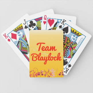 Team Blaylock Bicycle Playing Cards