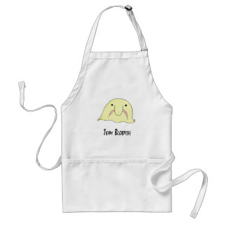 team blob adult apron