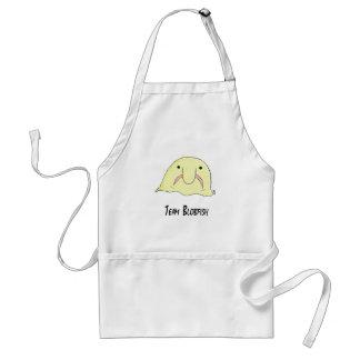 team blob adult apron