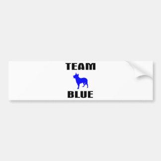 Team Blue Bumper Sticker