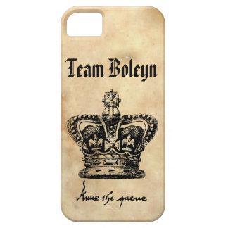 Team Boleyn - Anne's Crown & Signature iPhone 5 Cover