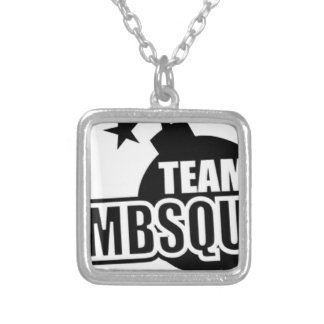 Team Bombsquad Trucker Silver Plated Necklace