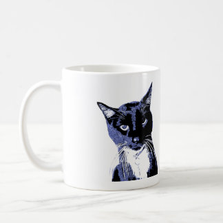 """TEAM BOO"" Black Cat Club Mug"