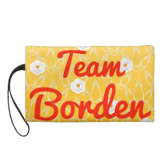 Team Borden Wristlet Clutches