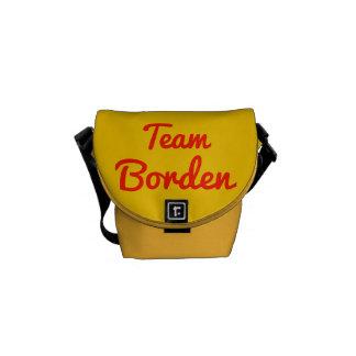 Team Borden Messenger Bag