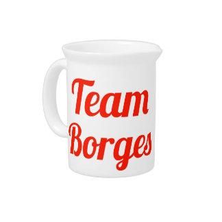 Team Borges Beverage Pitchers