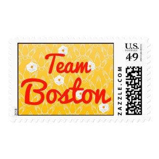 Team Boston Stamps