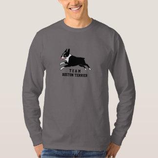 Team Boston Terrier - Custom Text Shirt