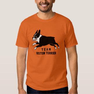 Team Boston Terrier - Custom Text T-shirt