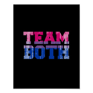 Team Both distressed.png Poster