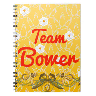 Team Bower Spiral Notebook
