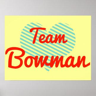 Team Bowman Print