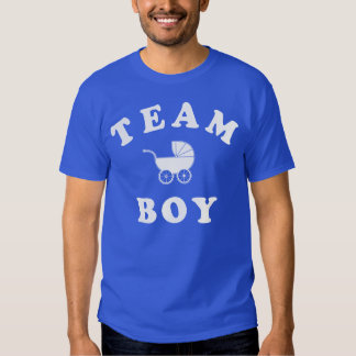 Team Boy Baby Reveal T-shirt