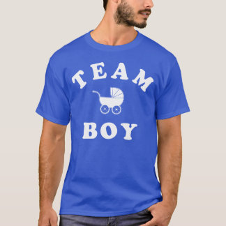Team Boy Baby Reveal T-Shirt