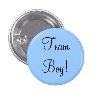 Team Boy Pinback Button