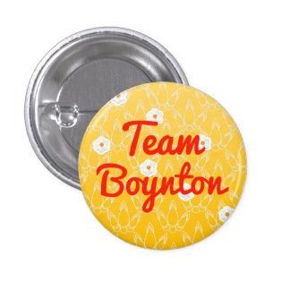 Team Boynton Pinback Button