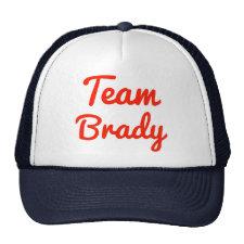 Team Brady Trucker Hat