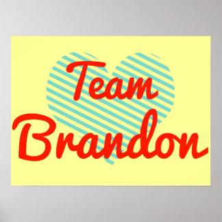 Team Brandon Posters