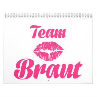 Team Braut Calendar