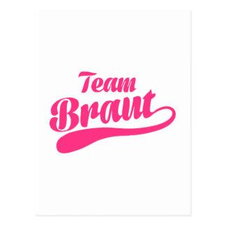 Team Braut Postcards