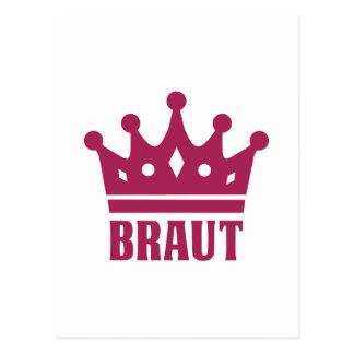Team Braut Post Card
