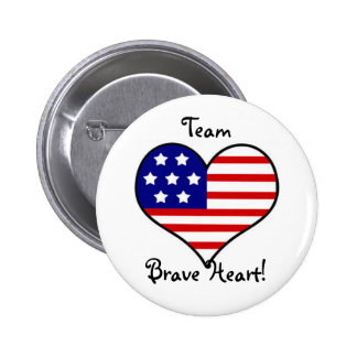 Team Brave Heart Button