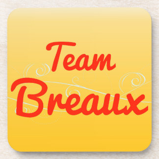 Team Breaux Drink Coaster