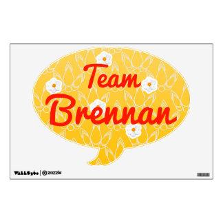 Team Brennan Wall Sticker