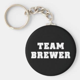 Team Brewer Keychain