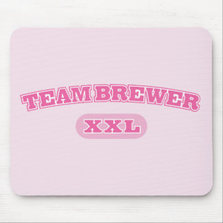 Team Brewer Pink XXL Mouse Pad
